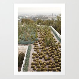 View at the Getty  //  Travel the World Art Print