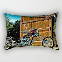 Chopper Dave Rectangular Pillow