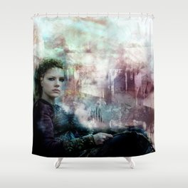 The Field Of Battle Is My Temple Shower Curtain