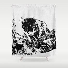 Mountains II Shower Curtain