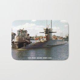 USS JOHN ADAMS (SSBN-620) Bath Mat