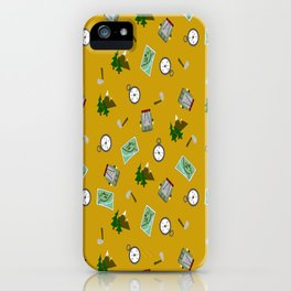 Hiking Pattern iPhone Case