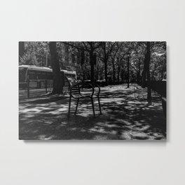 A chair, New York City (2020-9-GNY-221) Metal Print