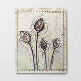 Red Seeds Metal Print
