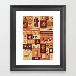 Accio Items Framed Art Print