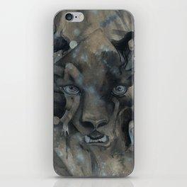 The Black Leopard iPhone Skin