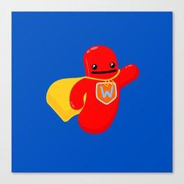 Super Wiener Canvas Print