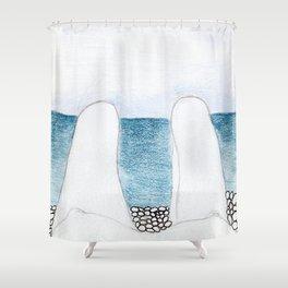 summer lovers_W Shower Curtain