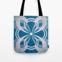 infinity Tote Bags featuring Infinity by Enrico Guarnieri 'Ico-dY'