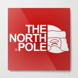 The North Pole Metal Print