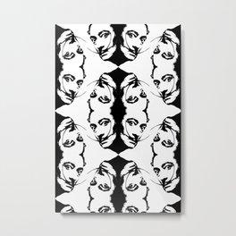 Simplicity is The Intensity (ID274) Metal Print