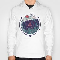 water Hoodies featuring Water by Hector Mansilla