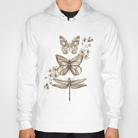 Hoodies featuring Vintage Science by Casey Saccomanno