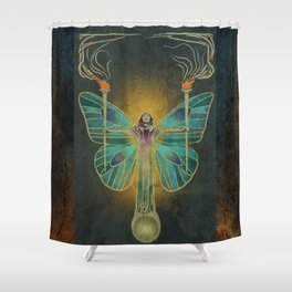 Keeper Of The Ancient Flame Shower Curtain