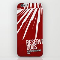 reservoir dogs iPhone & iPod Skins featuring Reservoir Dogs by Andres Asencio