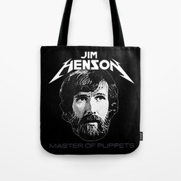 ORIGINAL Jim Henson Master of Puppets Tote Bag