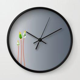 Calyptrae Wall Clock