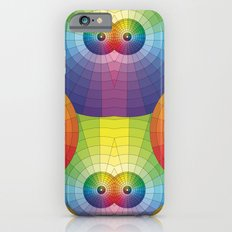 Rainbow Pretty Circles Color Wheel Awesome Thing iPhone 6s Slim Case