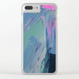 Crazy Sometimes Clear iPhone Case