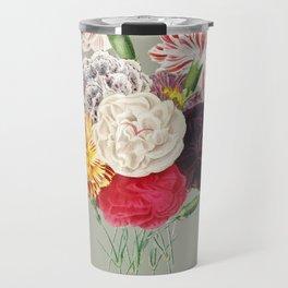 Colorful Flower Bouquet Travel Mug