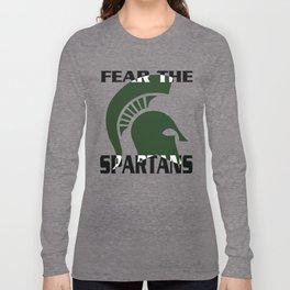 fear the spartans Long Sleeve T-shirt