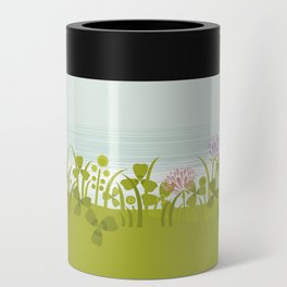 Sunny Day. Clovers. Can Cooler