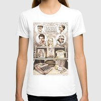 tenenbaums T-shirts featuring The Royal Tenenbaums by Aaron Bir by Aaron Bir