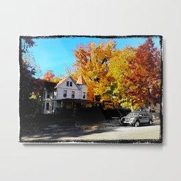 Fall in New Jersey Metal Print