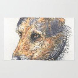 Jack Russell portrait Rug