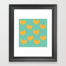 Inner Fox Framed Art Print