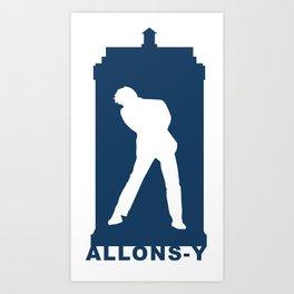 Allonsy Art Print