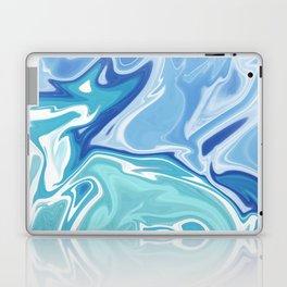 MARBLE - SEA - CLOUDS - SMOKE - WAVES Laptop & iPad Skin