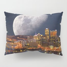 Spacey Pittsburgh Pillow Sham