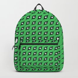 Green Fifties Pattern 01 Backpack