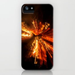 Playing with Fire 9 iPhone Case