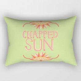 Chapped Sun Rectangular Pillow