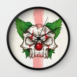 skull sketch design Wall Clock