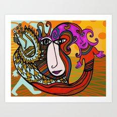 Paranoia & Peace Art Print