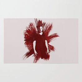 Watercolor Sam Winchester Rug