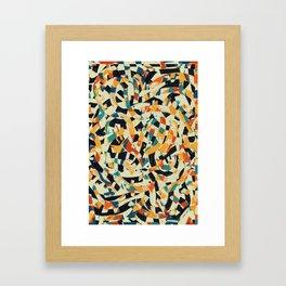 Pattern № 90 Framed Art Print