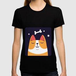 Dreaming Pembroke Welsh Corgi Dog T-shirt