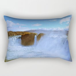 Soothing Cascades Rectangular Pillow