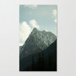 Peak in the Fall Canvas Print