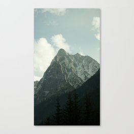 Peak in the Fall Canvas Print