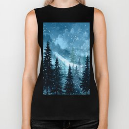 Winter Night Biker Tank