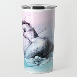 Nude female 3 Travel Mug
