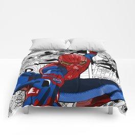 Spider-Man Comic Comforters