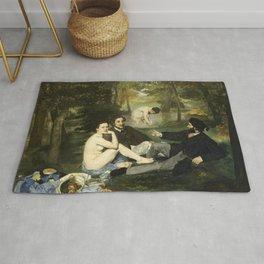 Édouard Manet - Luncheon on the Grass Rug