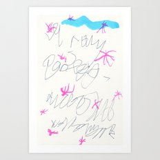 wishful thinking. spell 3. Art Print