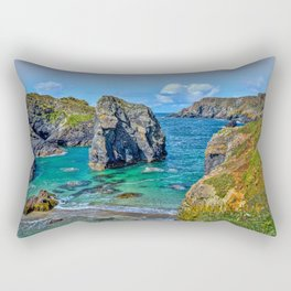 Kynance Cove - Sugarloaf Rock Rectangular Pillow